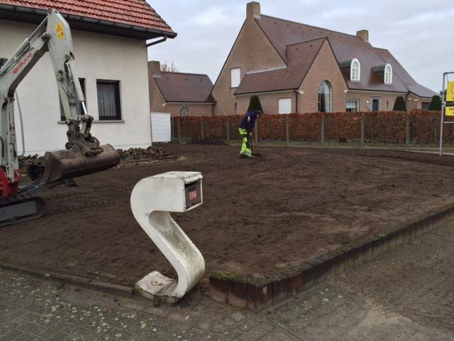 nivelering-tuin